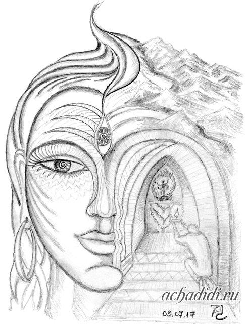 Шива манаса пуджа в стихах